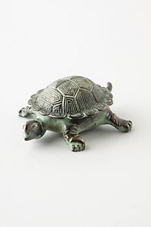 Patina Turtle Trinket Dish