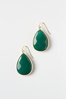Gold Rung Earrings
