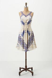 Blue Bombus Dress