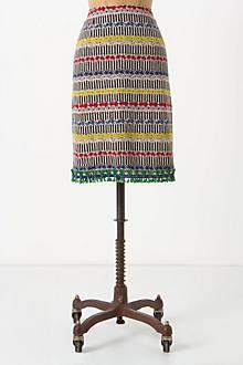 Raffia Borders Skirt