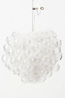 Bubbling Glass Chandelier