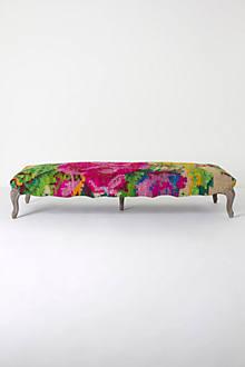 Kilim Rose Bench