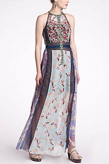 Wilderflora Patchwork Maxi Dress