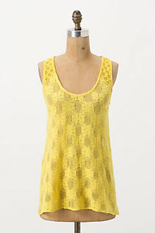 Poinciana Lace Tank