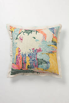 Abstraction Pillow, Square