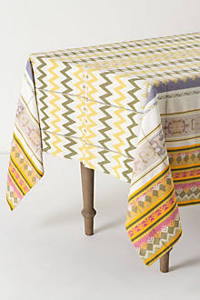 Woven Rhythms Tablecloth