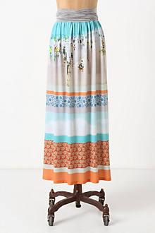 Inkjet Maxi Skirt