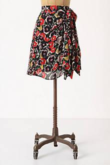 Draped Viola Skirt