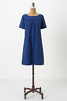 Cerulean Stripes Shift
