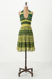 Lemon-Lime Sweater Dress