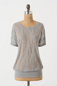 Pointelle Lace Tee