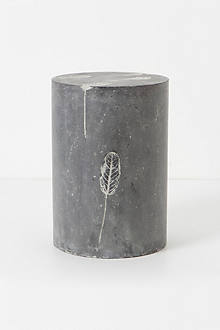 Fallen Leaves Cement Stool
