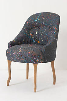 Splattered Pull-Up Chair