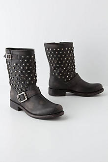 Studded Engineer Boots