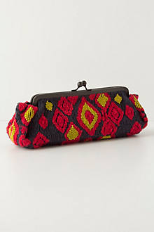 Ica Woven Clutch