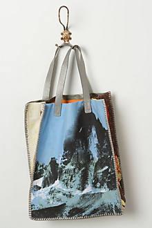 Topstitched Matterhorn Tote