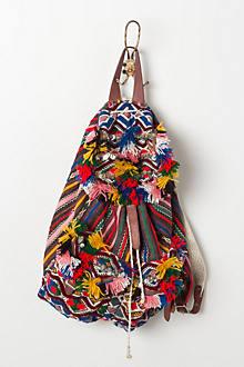 Tufted Geo Backpack