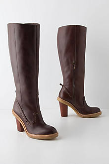 Cherrywood Studded Boots