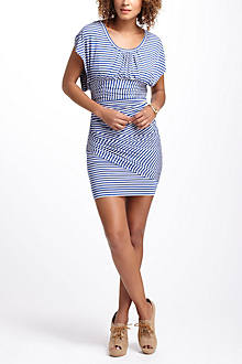 Striations Mini Dress