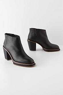 Piped Platform Booties