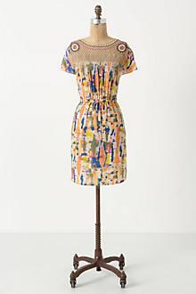 Blurred Pinwheel Mini Dress Anthropologie Com