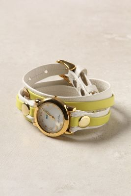 Artisan Two-Tone Wrap Watch