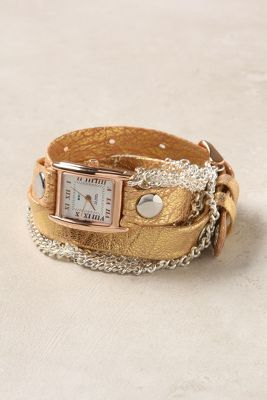 Artisan Metallic Wrap Watch