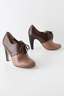 Two-Tone Oxford Heels
