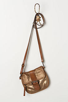 Bronzed Mini-Satchel
