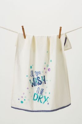 If You Wash, I'll Dry Dishtowel