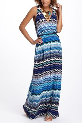 Sky Trails Maxi Dress