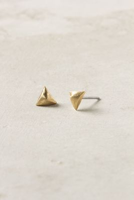 Mini Pyramid Earrings