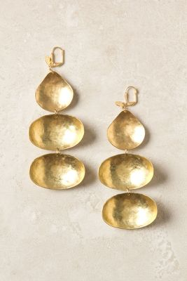 Triple Dipper Earrings