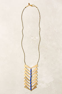 Tilted Polygons Necklace
