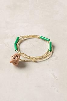 Knotted Bea Bracelet