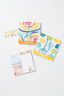Monogram Sticky Notes