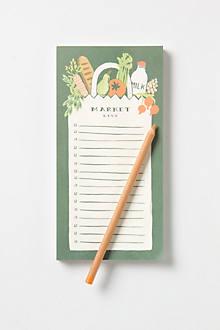 Fresh Produce Notepad