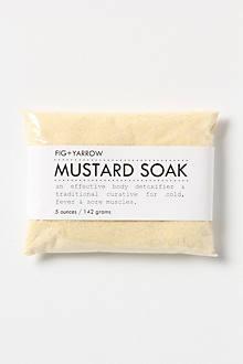 Fig + Yarrow Mustard Soak