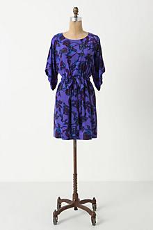 Tyrian Blooms Mini Dress