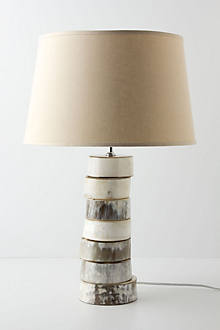 Stacked Horn Lamp Base