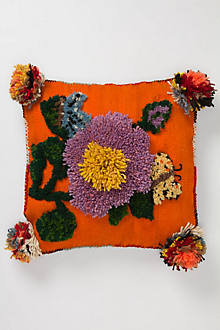 Tufted Flower Pillow
