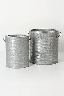 Corrugated Planter Set
