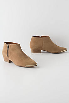 Gleam-Tipped Booties