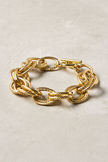 Brushed Chain Bracelet