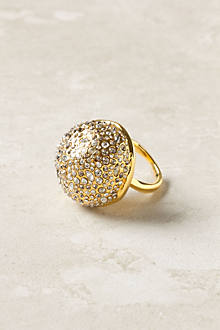 Pave Sphere Ring