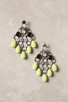 Key Lime Hive Earrings
