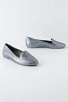 Spin Glitter Rain Loafers