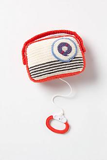 Crocheted Music Box Radio