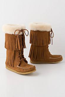 Fringe Flutter Boots