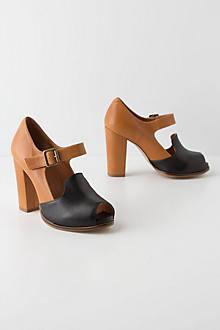 Black & Tan Heels